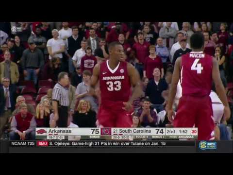 Arkansas vs. South Carolina 2/15/2017