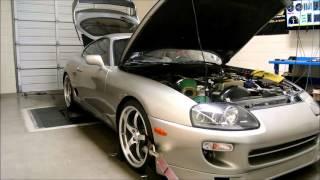Supra Dyno EFR 7163 Twin Turbo Kit Development