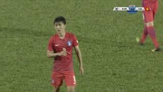 AFC U23 예선 대한민국 vs 베트남 - 황인범 골장면