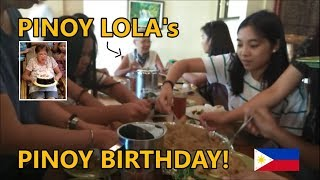 Kaminawis Grill House Restaurant Andamp Pinoy Lolaand39s Pinoy Birthday In Tanay Rizal The Philippines