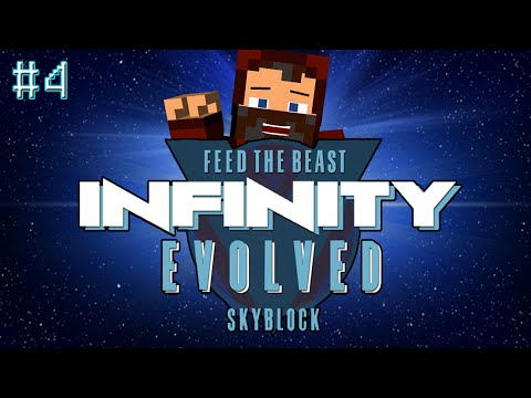"""""""LEARNING NEW THINGS!"""" INFINITY EVOLVED SKYBLOCK #4"""