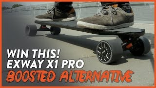 EXWAY X1 PRO - LIGHT, FAST, AFFORDABLE ELECTRIC SKATEBOARD