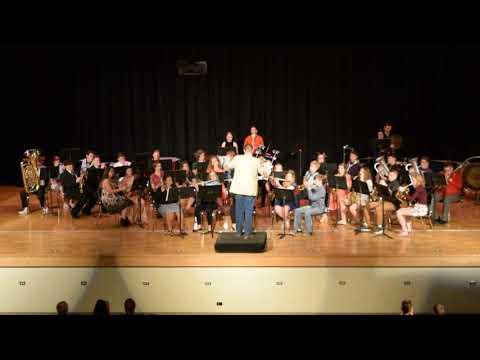 Newton Falls High School Concert Band - 80s Mix (5/17/18)