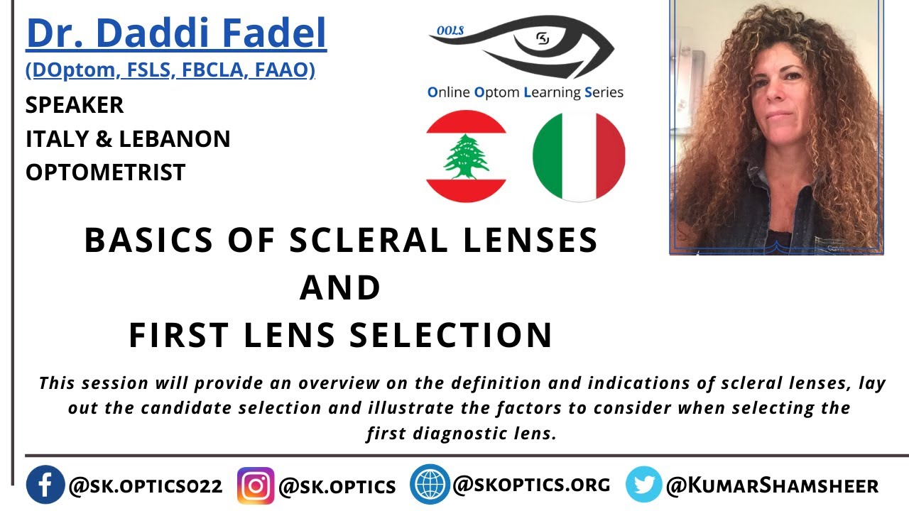 Basics of Scleral Lenses and First Lens Selection | OOLS |