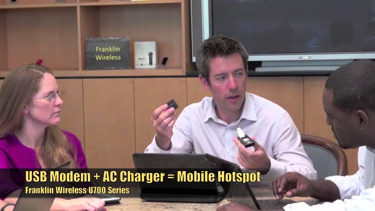 Franklin Wireless Unveils its New Smart USB Hotspot Series