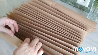 видео Как сделать рулонные шторы своими руками – пошаговая инструкция