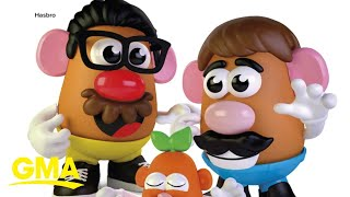 Hasbro rebrands Mr. Potato toy to be more gender-neutral