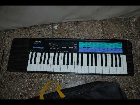 """Casio CA-100 Demo """"Together Forever"""" by Rick Astley"""