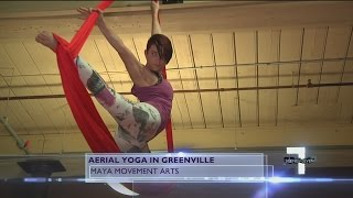 Elevate Your Workout With Aerial Yoga At MAYA Movement Arts