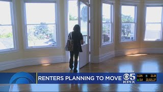 Survey Shows Many Bay Area Renters Plan To Leave Region