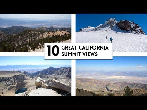 10 Great California Mountain Summit Views