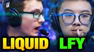 LIQUID vs LFY - WHAT A HARD ASS GAME TI7 Main Event Bo3 [Game 1]