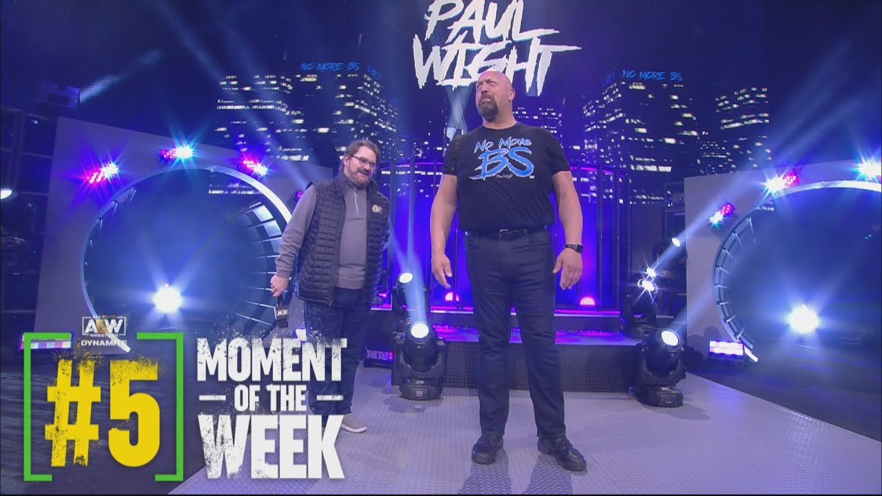 Paul Wight Makes Some Big Promises in His AEW Debut | AEW Dynamite