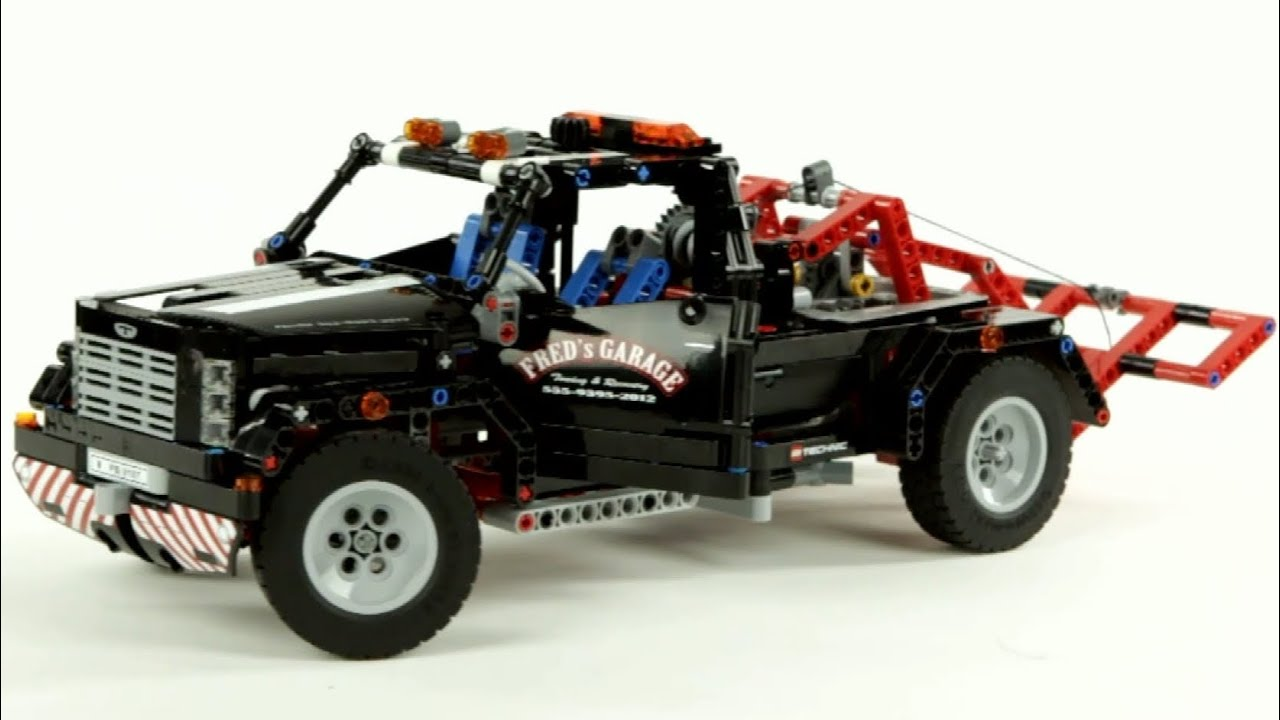 lego technic pick up tow truck lego 9395 muffin. Black Bedroom Furniture Sets. Home Design Ideas