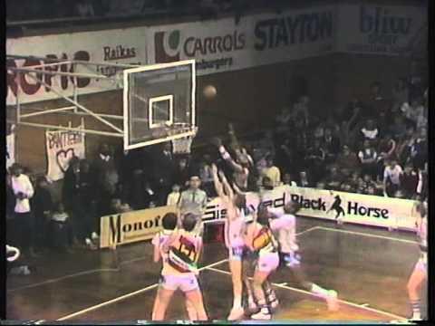 Koripallon SM-sarjan finaali 1983 | Torpan pojat - Pantterit 2/2