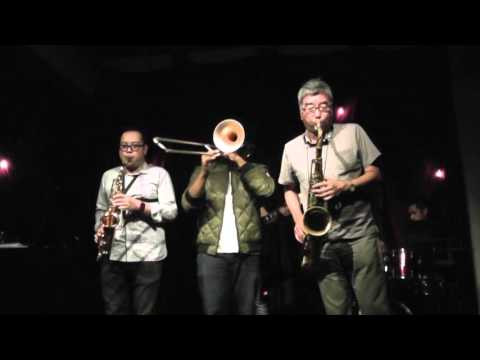 160501 Horny Horns live at The Jazz Day '16 -  St. Thomas/Route 66