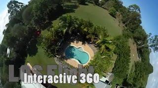 interactive 360 degree drone flying   ricoh theta s