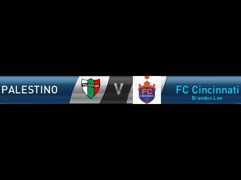 PES: Amateur Division 3 - Matchday 10 - Palestino vs FC Cincinnati