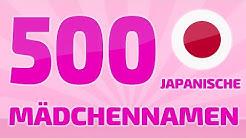 500 beliebte und schöne japanische Mädchennamen ❤