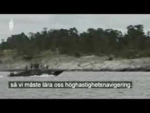UK Royal Marines testing Combat boat 90