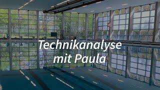 Schwimmanalyse mit Paula 🏊🏼♀️📝 🔝