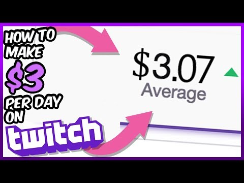 How To Earn $3 Per Day On Twitch