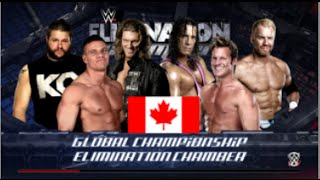 WWE 2K16 | Canadian Elimination Chamber