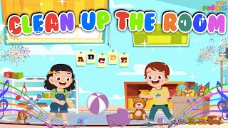 Clean Up The Room Song For Kids With Lyrics | Kids Songs and Nursery Rhymes