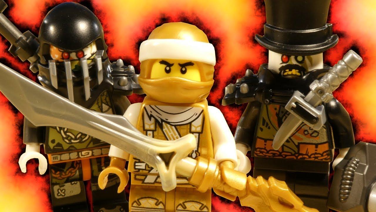 LEGO NINJAGO HUNTED - GOLDEN DRAGON MASTER