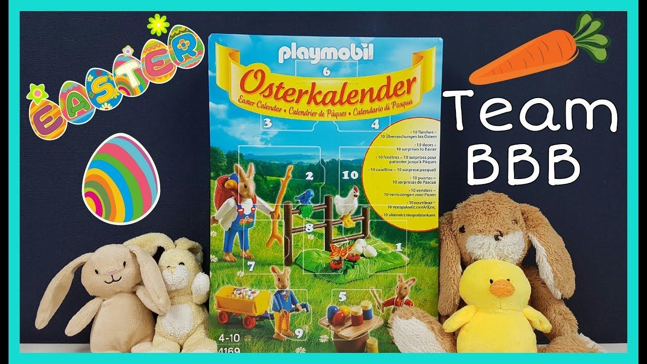 Playmobil EASTER Calendar! Osterkalender. 10 doors of surprises for EASTER! Toy Calendar for kids  sc 1 st  YouTube & Playmobil EASTER Calendar! Osterkalender. 10 doors of surprises for ...