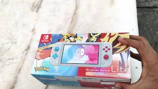 Nintendo Switch Lite Zacian & Zamacenta edition 📦
