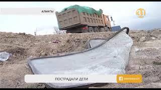 В Алматы в ДТП пострадали четверо детей