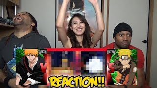 Naruto VS Ichigo | DEATH BATTLE REACTION & REVIEW!!