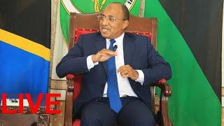 LIVE: Zanzibar's President Hussein Mwinyi addresses a press conference