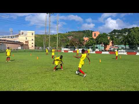 Grenada U15 Boys Training