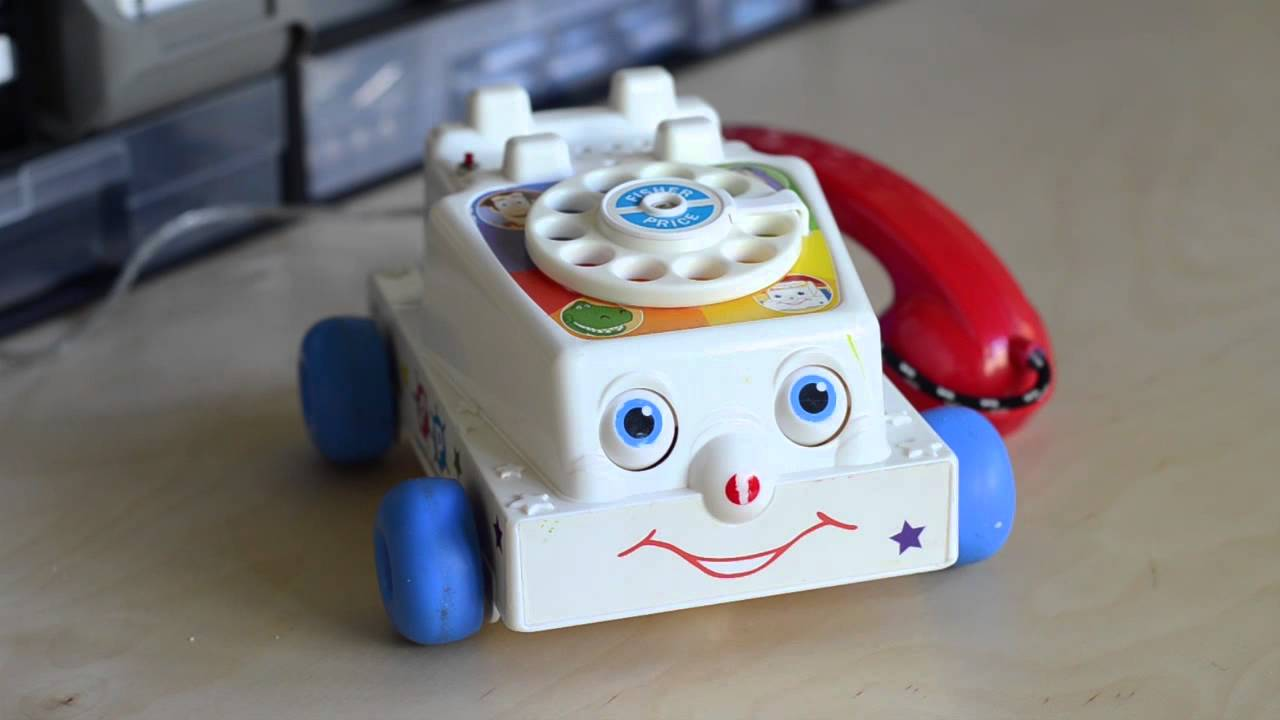 Talking Fisher Price smartphone - Raspberry Pi