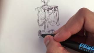 some tips for drawing the skeleton (front view)