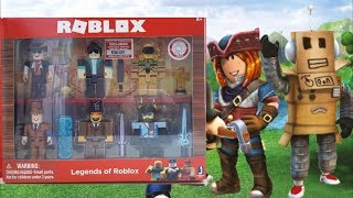 ROBLOX... Legends of Roblox unboxing en español