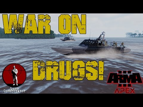 Arma 3 War on Drugs on the Cambodian map
