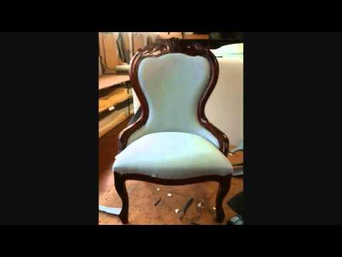 Come tappezzare una vecchia sedia how to upholster an for Rivestire una vecchia poltrona