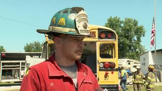 Firefighters Receive Special Training Just In Time For School Year