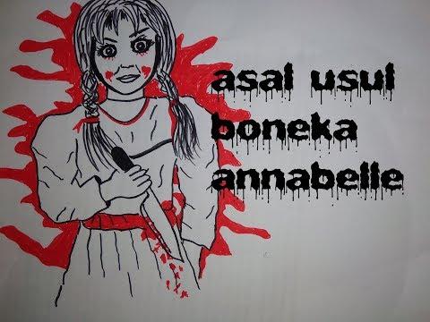 Cerita Mistis dibalik boneka annabelle part 1ICerita bergambar Icerita gambar
