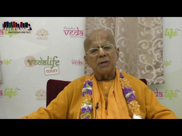 Обращение Е.С. Гопал Кришна Госвами к марафону Шрила Прабхупады 2019