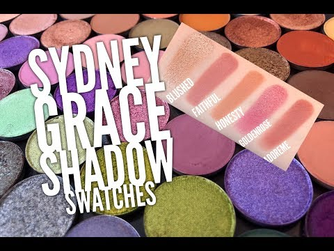 My Sydney Grace Shadow Swatches