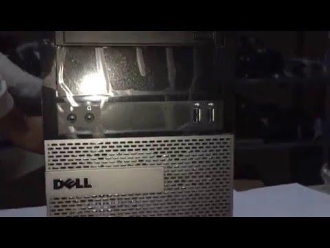 DELL OptiPlex 3020MT unboxing. Dell desktop pc SM009D3020MTU1H16 unboxing.