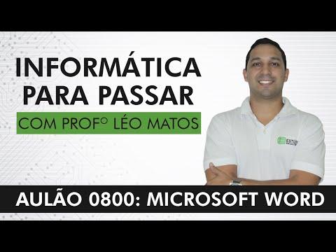 Aula Gratuita - Microsoft Word - Índices, Cabeçalho e Rodapé e outros - Léo Matos