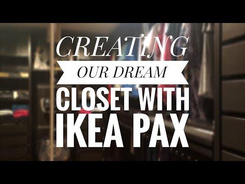 Building Our Dream Closet | Ikea Pax