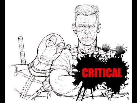 [그리다]드로잉 - 데드풀2  - 그림 그리기 [Grida] Deadpool 2 Drawing Speed Drawing