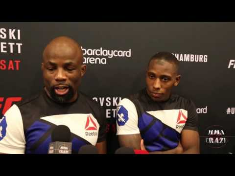 Taylor Lapilus UFC Fight Night Hamburg Post Fight Media Scrum