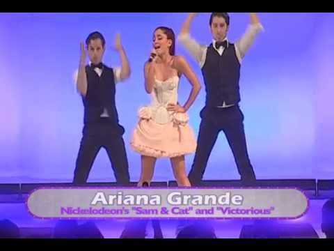 "Ariana Grande Performs ""Grenade"" at Premiere Event in Orlando at Disney World"